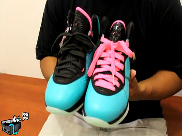 lebron 8 south beach. First person to stunt w/ both