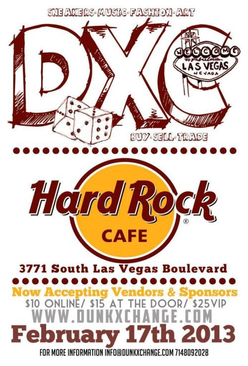 DunkXchange (Magic Edition) hits Las Vegas 2/17 at The Hard Rock Cafe.