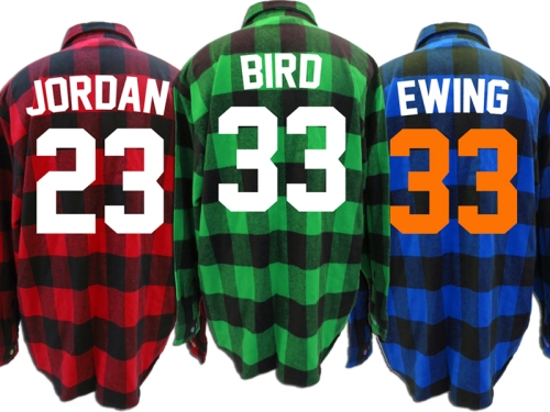 Now Available; Throwback Flannels